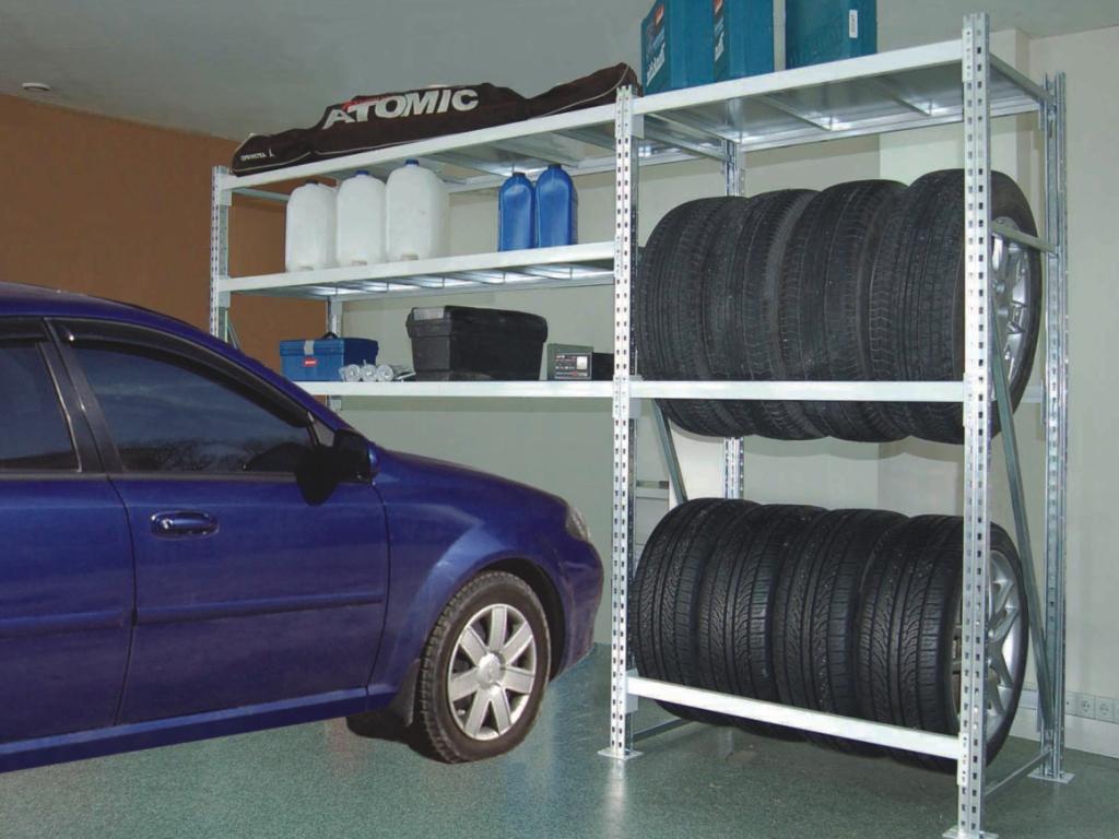 Стеллажи для гаража.