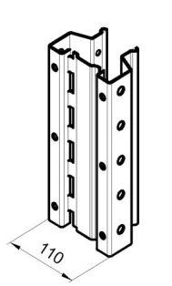 Стойка паллетного стеллажа РП 110